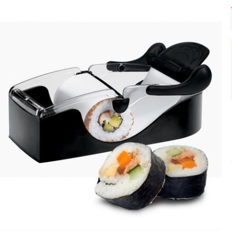 Волшебный рисовый рулон, Легкая машина для суши, резак, роллер «сделай сам» для кухни, идеальный волшебный роллер для суши Onigiri