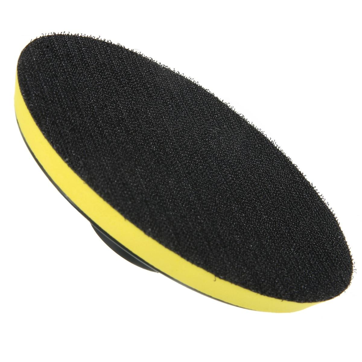 New M14 Backing Pad Wheel 75-100-125mm Polishing Buffing Plate Disc Adhesive Backed Hooks For DIY Car Polishing Adhesive Backer