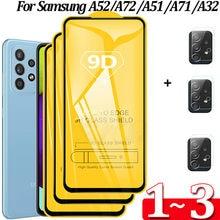 Película Samsung A52 ,Cristal Templado Samsung A52 5G protectores de pantalla Película frontal Samsung Galaxy A 52 Glass Film A72 A32 A71 A51 protectora de vidrio