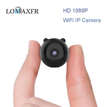 Mini Full HD 1080P mała kamera Wifi Wifi IP Mini kamera IR Night Vision mikro kamera kamera z czujnikiem ruchu wsparcie TF karta SD tanie i dobre opinie BRDRC Inne Serii SONY Novatek96658 (1080 P 30FPS) O 2MP Dla Domu Microsd tf Obsługuje WIFI 128g