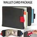 새 지갑 카드 패키지 여권 여행 신용 카드 패키지 지갑 여권 홀더 다기능 id 문서 멀티 카드 보관