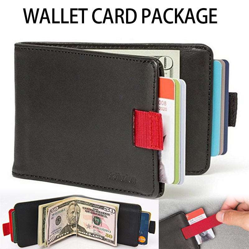 New Wallet Card PackagePassport Travel Credit Card Package Wallet Passport Holder Multi-Function ID Document Multi-Card Storage