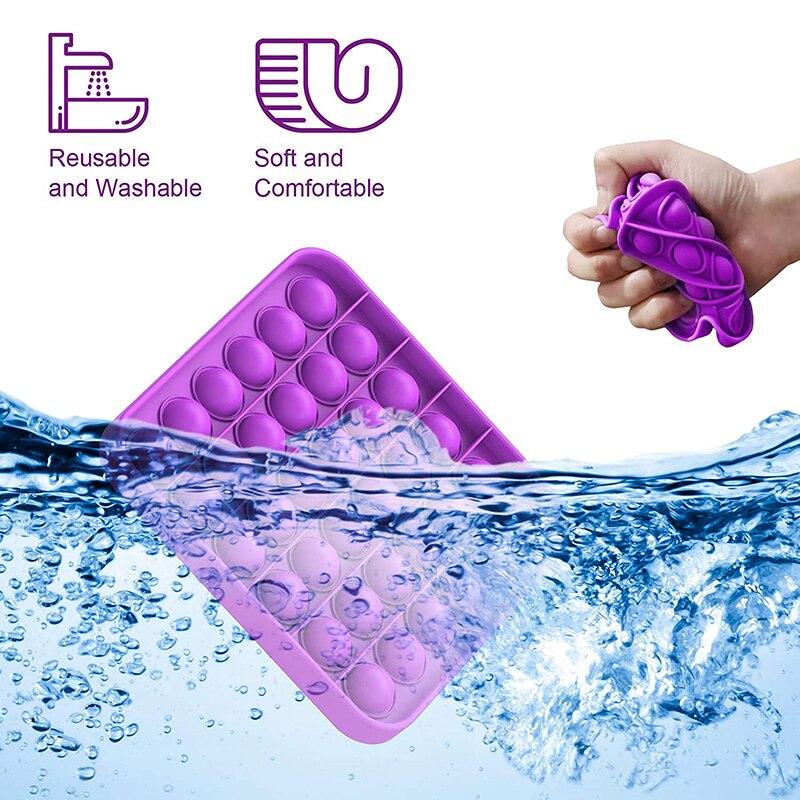Popit Fidget TOYS Unicorn Mouse Autism Bubble Stress Reliever Squeeze-Sensory Squishy img2