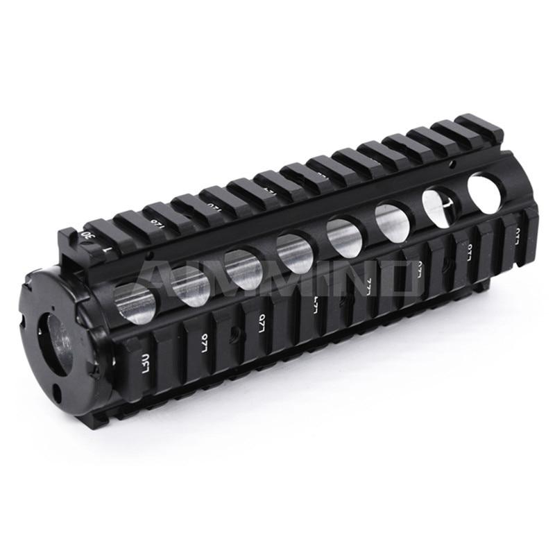 M16 airsoft aeg ris handguard 6.7 polegada