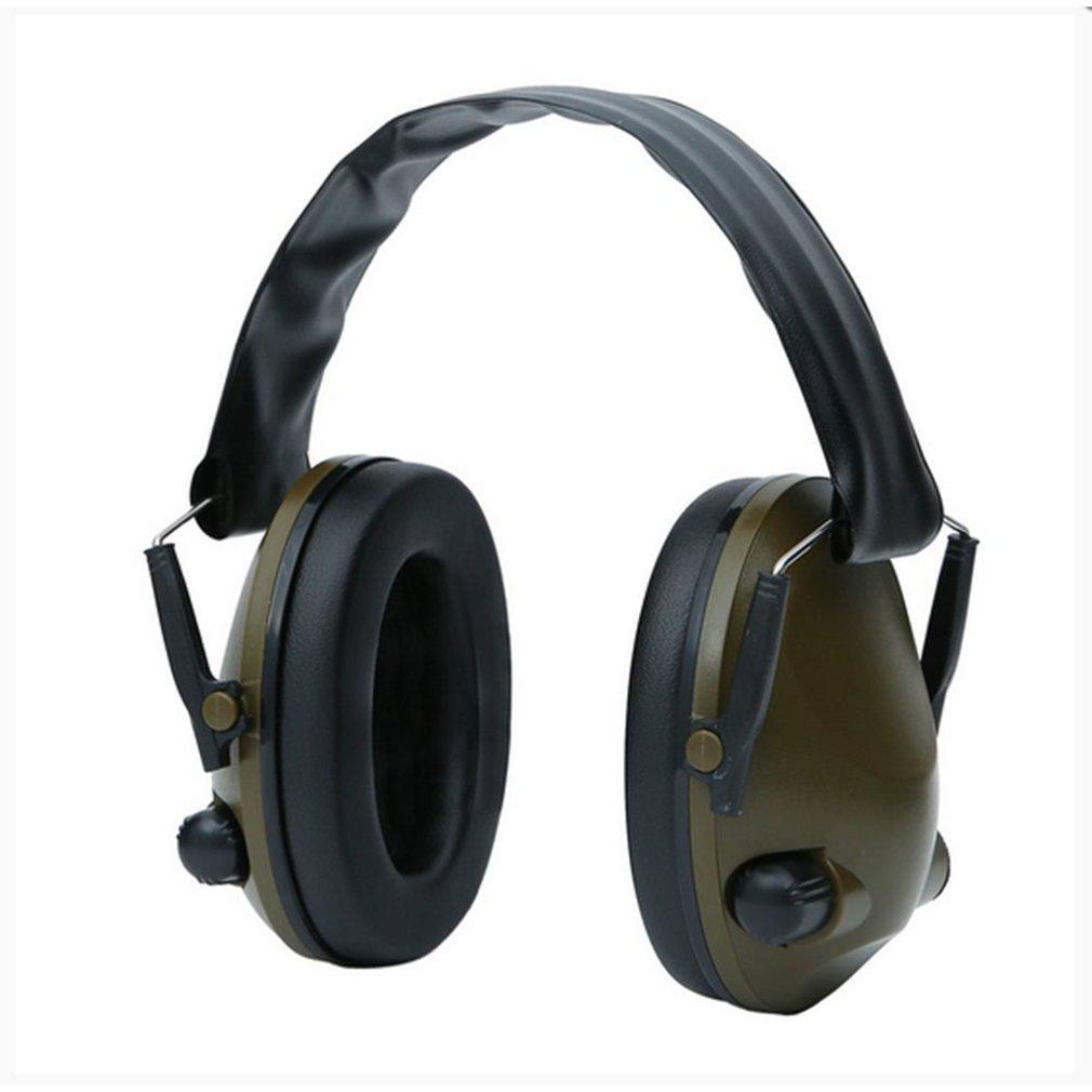 Tático militar earmuff redução de ruído caça