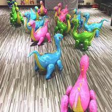 New 4D Assembling Dinosaur Balloons Safari Party Decoration Globos Birthday Decor Kids Babyshower Supplies
