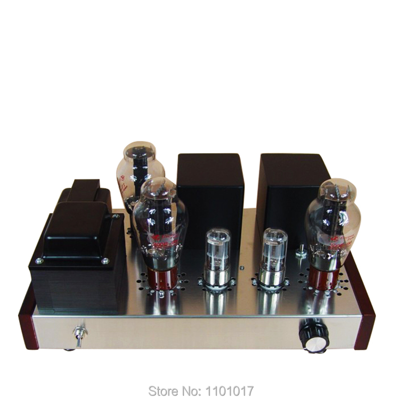 JBH 300B tubo directamente caliente triodo Amp HIFI exquisis DIY SET o terminado Lámpara pequeña amplificador JBH6H8C300B NEO Gleam, candelabro led rectangular moderno para sala de estar dormitorio estudio blanco o negro 95-265 V, candelabro cuadrado con RC