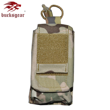 BUCKSGEAR 500D nylon double layer M4 G36 magazine pouch military molle ammo pouch