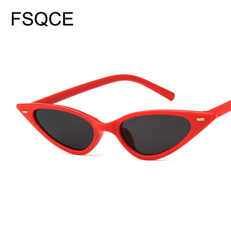 <font><b>Cat</b></font> <font><b>Eye</b></font> <font><b>Sunglasses</b></font> <font><b>Women</b></font> <font><b>Sexy</b></font> <font><b>Brand</b></font> <font><b>Designer</b></font> Small Triangle Vintage Sun Glasses Retro Cateye Eyewear UV400 Jenner <font><b>Sexy</b></font> Woman image