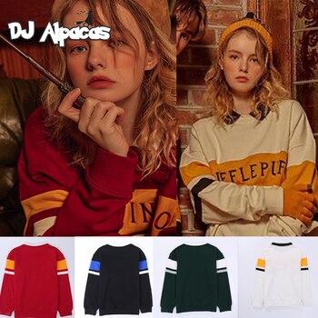 Sweater Couple School Fashion Sweatshirt Magic Uniform College Quidditch Neckline Birthday Costume Harajuku Tracksuit - discount item  27% OFF Costumes & Accessories