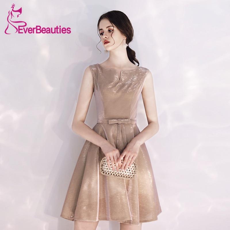 Vestido   Cocktail   Short   Cocktail     Dresses   2019 Shiny Prom Party   Dresses   Robe   Cocktail   Sukienka Koktajlowa