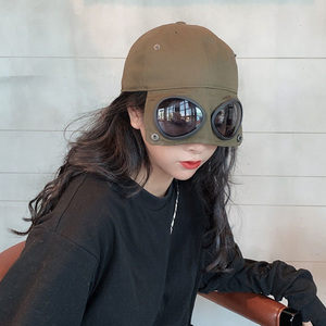 Image 2 - [EAM] 여성 블랙 분할 공동 멋진 어부 모자 새로운 라운드 돔 기질 패션 조수 모든 경기 봄 가을 2020 1H275
