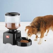 5.5L автоматическая кормушка для домашних животных, миска, Диспенсер, ЖК-дисплей для собак, кошек