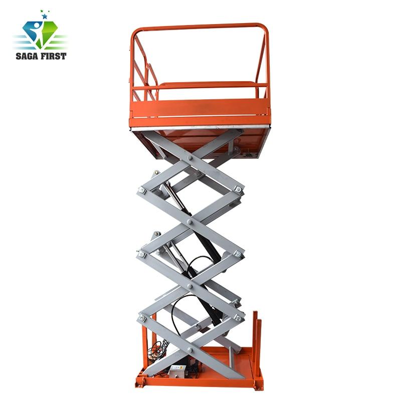 Hydraulic Furniture Lifting Platform Electric Lift Tables