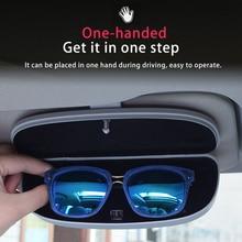 רכב משקפיים תיבת אחסון מחזיק משקפי שמש מקרה עבור BMW X1 X3 F25 X5 F15 F85 F20 F21 F30 F35 F80 f32 F33 F48 F82 F83 F10 F18 F11