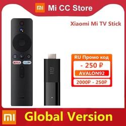 Global Version Xiaomi Mi TV Stick Android TV 9.0 Smart 2K HDR 1GB RAM 8GB ROM Bluetooth 4.2 Mini TV Dongle Wifi Google Assistant