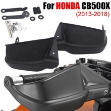Motocicleta preta lidar com barra de mão guarda escova handguard protetor para honda cb500x 2013 2014 2015 2016 2017 2018 2019