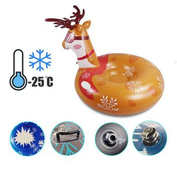 2 in 1 multifunctional Inflatable Snow Tube Swimming ring with Handle Multi-functional Environmental Friendly Cold-resistant Inf