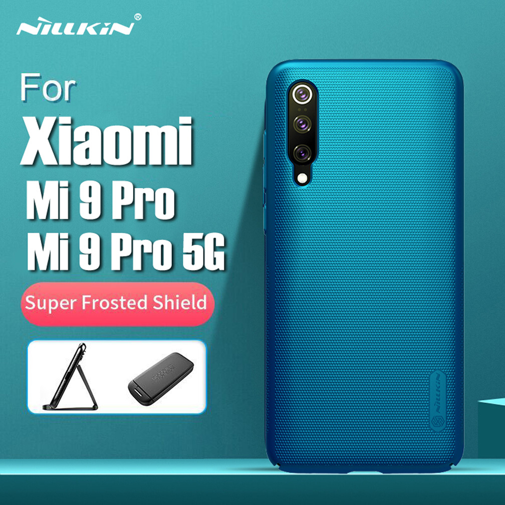 Nillkin Case For Xiaomi Mi 9 Pro 5G Cover Coque Fundas Super Frosted Shield Hard PC Phone Shell Back Cover For Xiaomi Mi 9 Pro