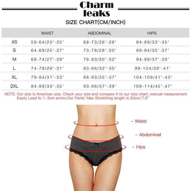Charmleaks Women's Lace Hipster Underwear V String Sexy Panties Tanga Briefs Geometric Cotton skin-friendly comfortable 4 Pack 6