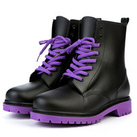 Rain Boots Women Winter Ankle Rainboots Waterproof Rainy Shoes Woman Outdoor Water Shoes Platform Boots Flat Botines Botas Mujer