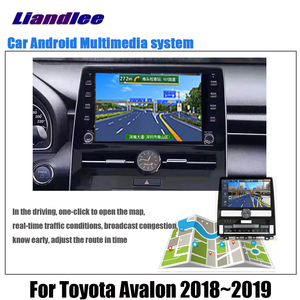 Image 5 - Car Android Multimedia Player For Toyota Avalon XX50 2018 2019 2020 Stereo radio Original Screen video GPS Map Navigation System