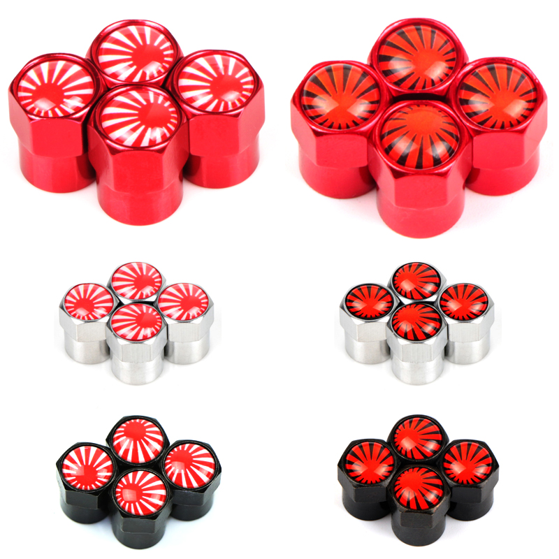4pcs Car Motorcycle Bicycle Wheel Tire Valve Cap For Nissan Lexus Mazda Toyota Subaru Daihatsu Infiniti Emblems