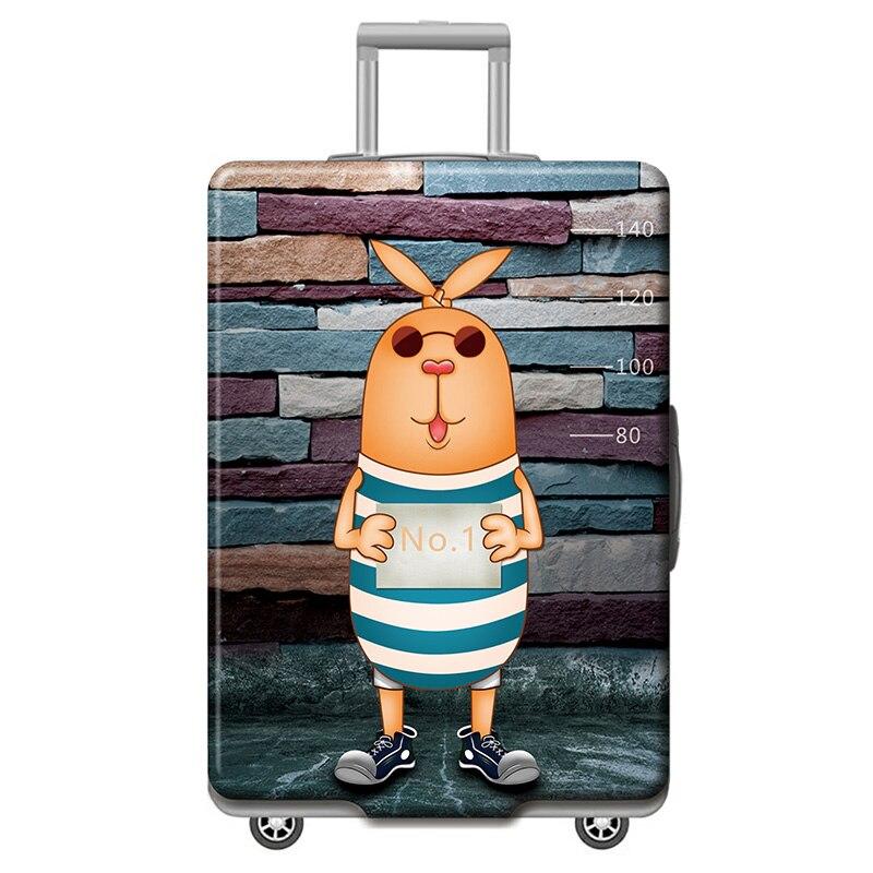 HMUNII карта мира, дизайнерский защитный чехол для багажа, Дорожный Чехол для чемодана, эластичные пылезащитные Чехлы для 18-32 дюймов, аксессуары для путешествий - Цвет: N-Luggage cover