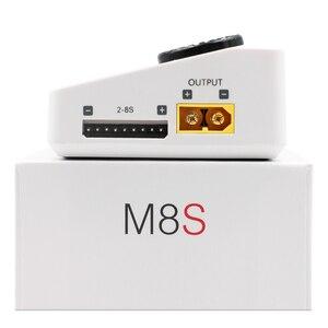 Image 5 - Toolkitrc M8S M8 Batterij Multifunctionele Oplader Ontlader Kleur Scherm 300W 15A 400W 18A Voor 1 8S lipo Lihv Leven Leeuw Nimh Pb