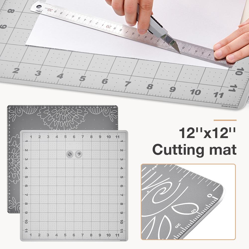 Cutting Mat Environmentally Friendly Material Lightweight Cutting Cushion Grid Lines Craft Card Fabric Leather Paper Board