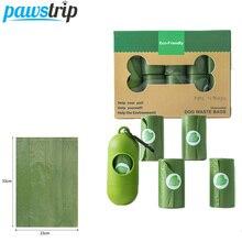 Biodegradable Dog Poop Bags Pet Waste Dispenser Outdoor Carrier Pet Poop Bags For Dog