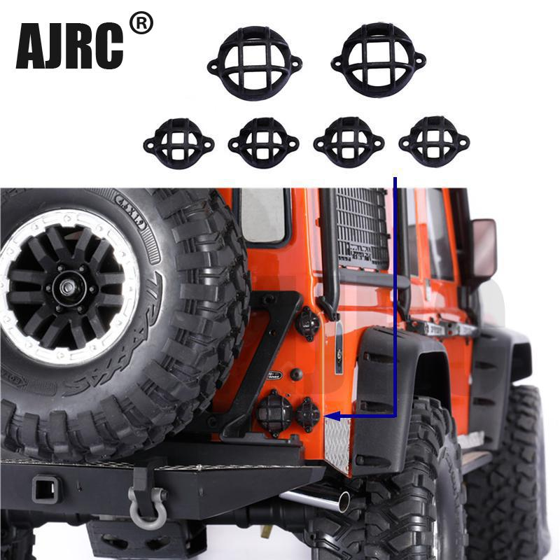 MJRC ABS protective lampshade for 1/10 Rc tracked car guard Traxxas Trx4 TRX-4 rear lamp cover reversing light protection cover