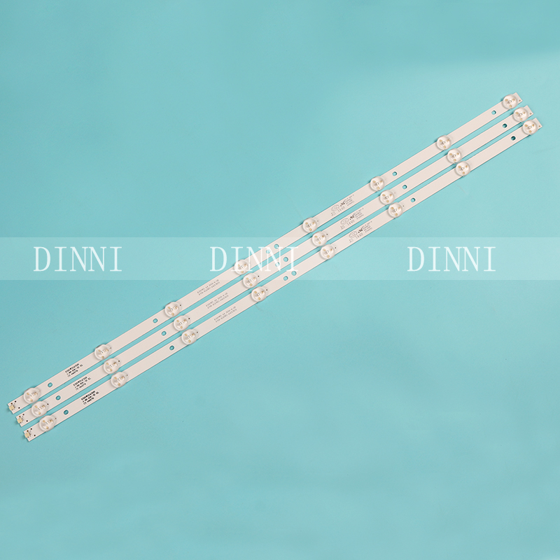 3pcs 32 Inch LED TV Backlight Strips 4708-K320WD-A4213K01 K32WD For TCL LE32D8800 Screen K320WD8