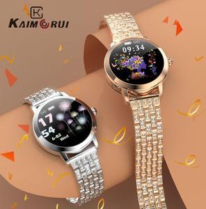 2020 милые Смарт-часы для женщин IP68 Водонепроницаемые сердечного ритма BP напоминание Сообщения LW10 умные часы подключены для Xiaomi Android IOS