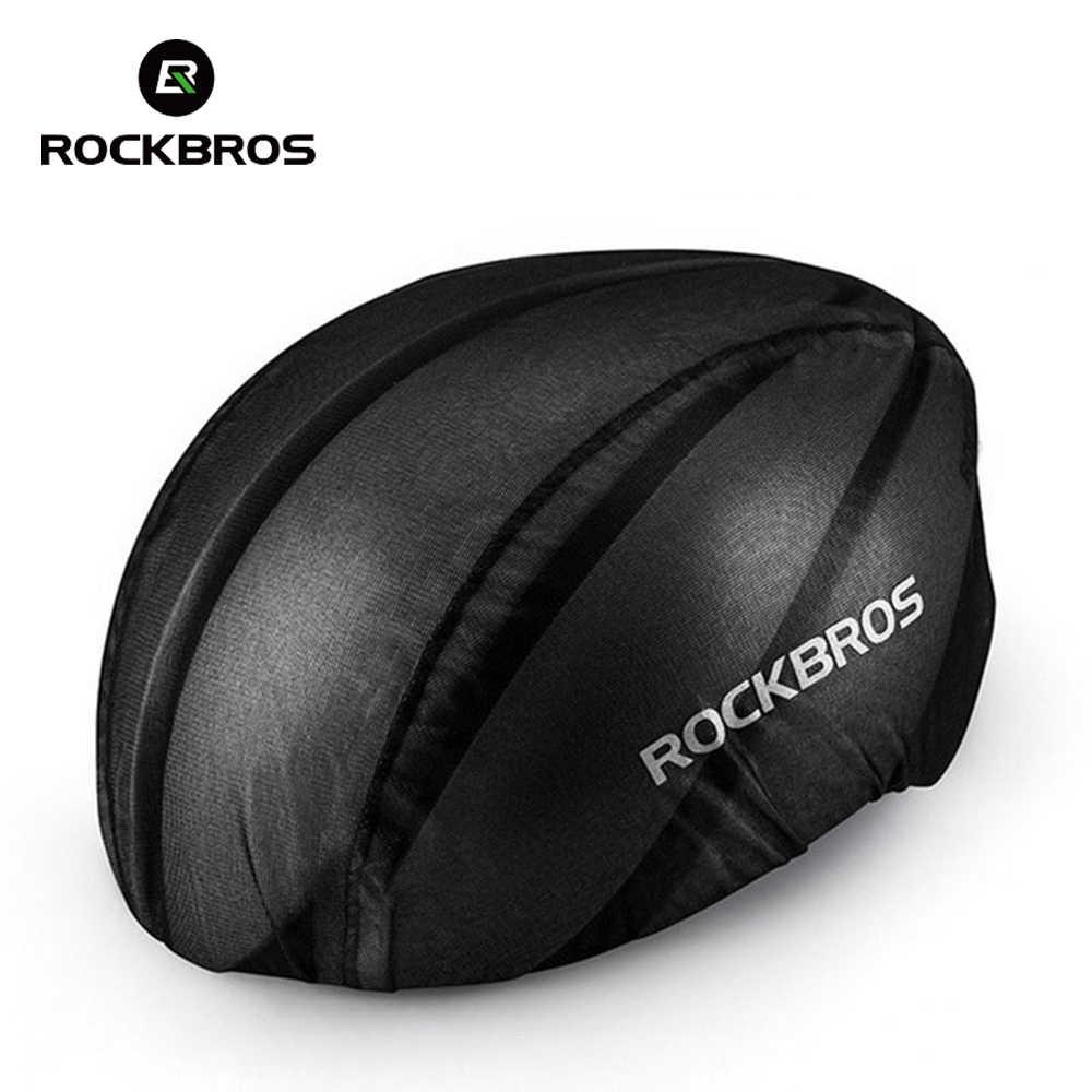 ROCKBROS Cycling Bike Helmets Rain Covers Windproof Waterproof Dust-proof Rain