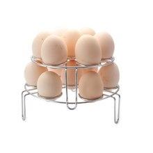 Stainless Steel Steamer Shelf High Steamed Rice Cooker Steamed Rice Steamer Anti-Hot Clip Steamed Egg Shelf цена и фото