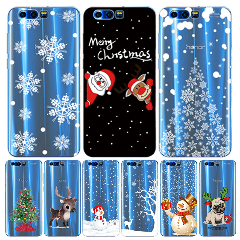 Arvin Christmas <font><b>Case</b></font> for Huawei <font><b>Honor</b></font> <font><b>9</b></font> <font><b>Silicone</b></font> Cover for <font><b>Honor</b></font> 8X Painting TPU <font><b>Honor</b></font> 10 <font><b>9</b></font> <font><b>lite</b></font> P smart 2019 <font><b>Honor</b></font> 20 Pro Funda image