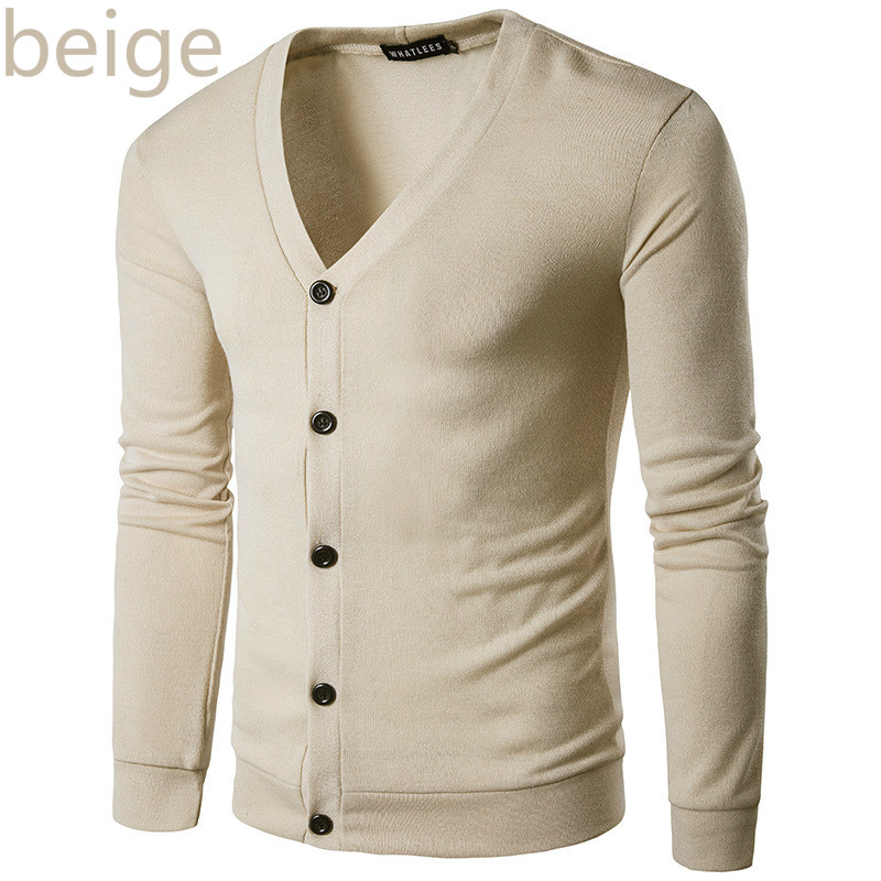 ZOGAA New Brand Sweater Men V-Neck Solid Slim Fit Knitting Mens Sweaters Cardigan Male 2019 Autumn Winter Fashion Casual Coats 3