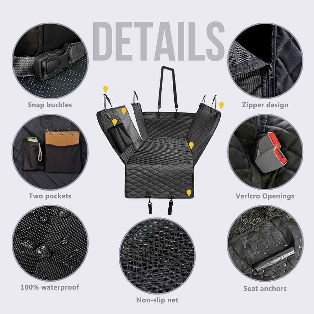 Coolid Backseat cover specifications