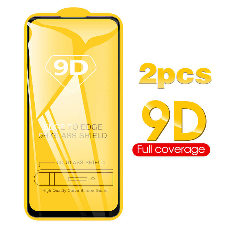 2Pcs 9D Kaca Pelindung Redmi Note 9S Glass untuk Xiaomi Redmi Note 9S 9 9 Pro Max 10X 5G Xiomi Note9s 9Pro Tempered Glas Film
