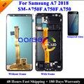 Супер AMOLED оригинальный LCD для Samsung A7 2018 A750 LCD A750 lcd для Samsung A750F A7 2018 ЖК-экран сенсорный дигитайзер сборка