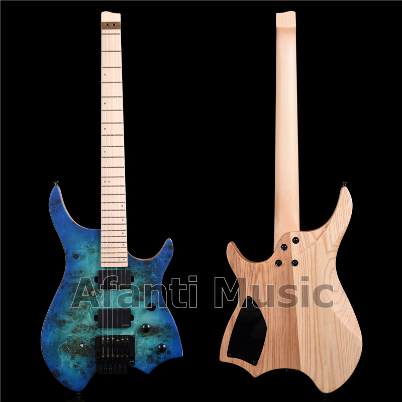 Afanti Music factory Headless style Ash Body Electric guitar (AWT-726S) title=