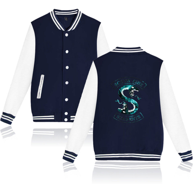SOUTH SIDE SERPENTS RIVERDALE BASEBALL JACKET