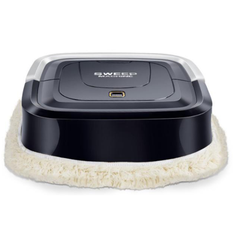 Automatic Smart Robot Vacuum Cleaner Floor Electric Mop Machine Sweeper For Home Black