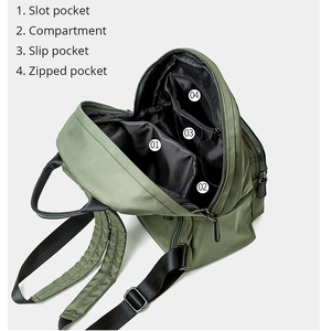 Image 5 - POMELOS Waterproof Women Backpack Fashion Backpack Women High Quality Fabric Roomy School Bag Travel Ladies Backpack Female