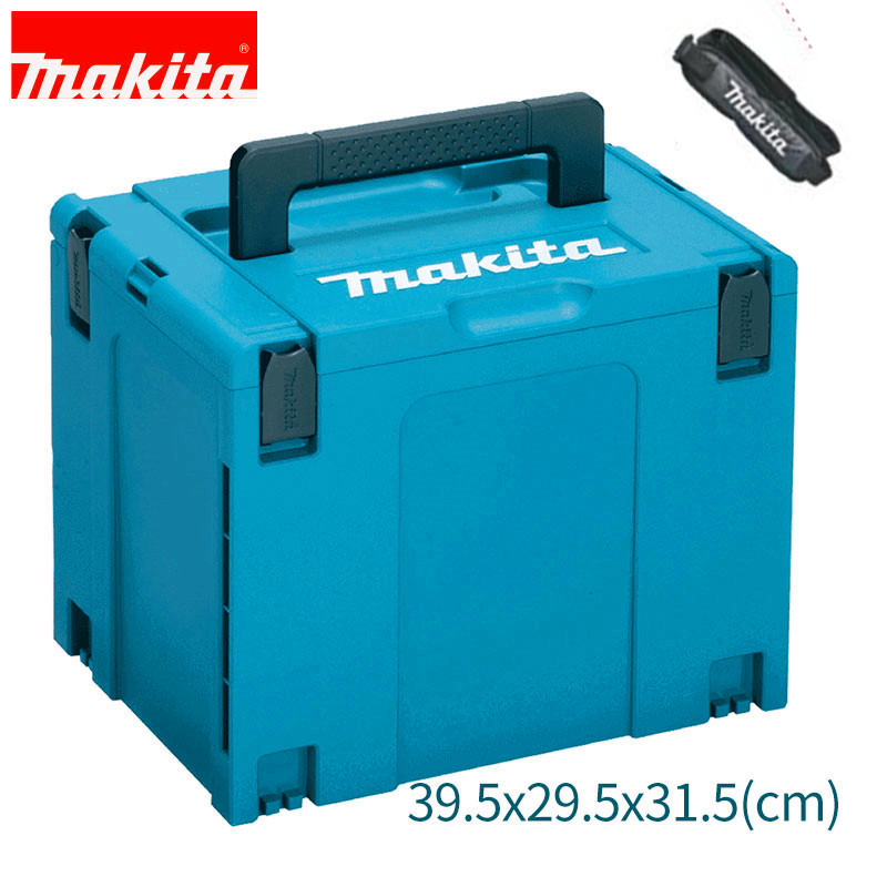 Makita MAKPAC Stacking Connector Tool Case Systainer TYPE 4 395 X 295 X 315mm For BHR243 BHR262 RP1801 RP2301FC RT0700C SP6000