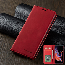 Magnetic Leather Case For Huawei