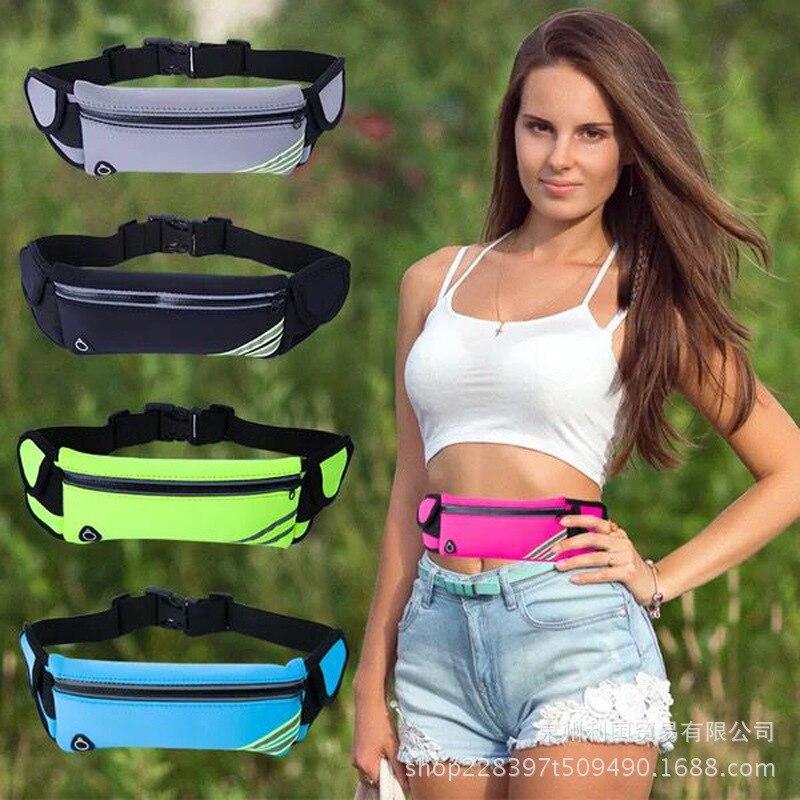 Waist Pack Sports Multi-functional Waterproof Phone Bag Outdoor Bottle Waist Pack Body Hugging Hidden Belt Tactical Waist Pack