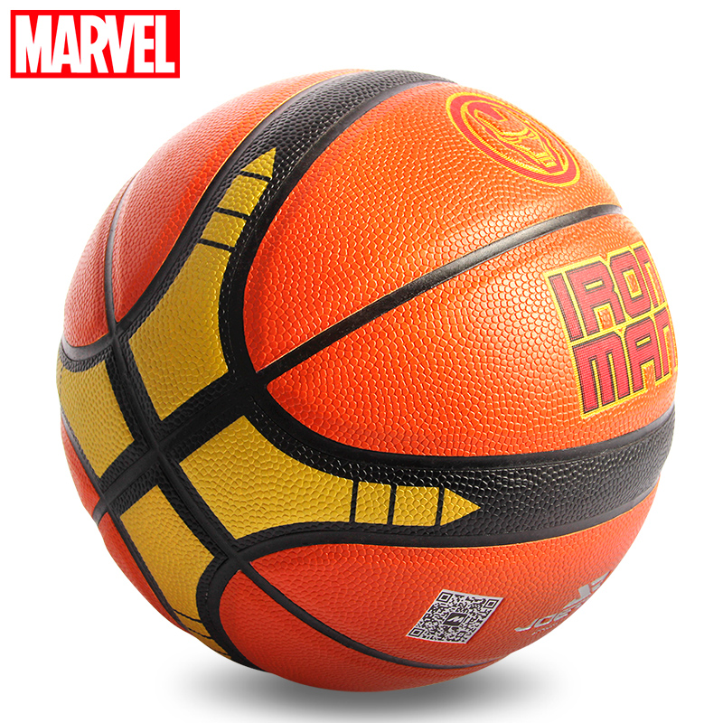Wholesale Or Retail NEW Marvel Joerex Basketball Ball PU Material Official Size7 Basketball