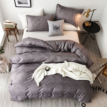 Однотонный комплект постельных принадлежностей комфортный Европейский